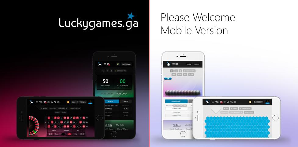 Luckygames Mobile Casino